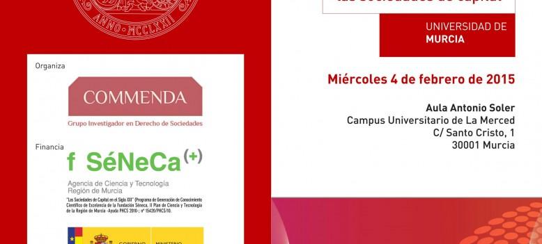 III JORNADAS COMMENDA. LOS ADMINISTRADORES DE LAS SOCIEDADES DE CAPITAL